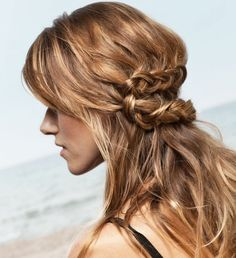By Marie W. #braid #summerhair @Bloom.COM