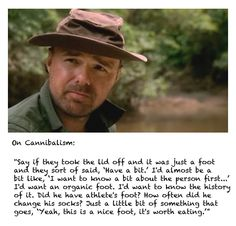 karl pilkington - on cannibalism (an idiot abroad)