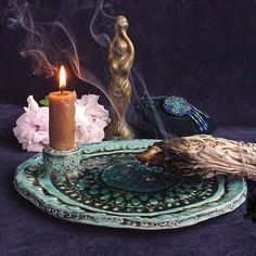 I love this plate... something like this would make a beautiful pentacle.