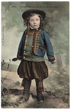 Enfant Breton du pays de Quimper