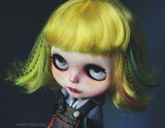 G.Baby Custom Blythe doll 164. Izzy por bebebentley en Etsy