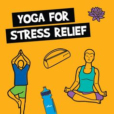 The perfect poses for stress relief