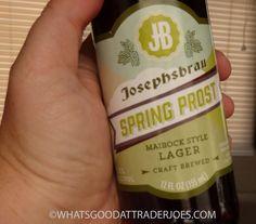 Following in the footsteps of other Gordon Biersch-produced, Trader Joe's-distributed, seasonally-inspired Josephsbrau brews , here we ha...