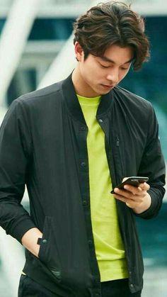 Luv that Hair ❤ J Hearts Korean Star, Korean Men, Asian Men, Lee Dong Wook, Asian Actors, Korean Actors, Goblin Korean Drama, Goblin Gong Yoo, Oppa Gangnam Style