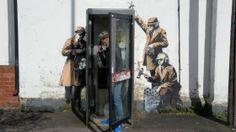 Maravilhoso Banksy, Cheltenham/UK