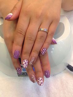 Nail Design at Treat Your Nails #nailcare #naildesign #Atlanta #nailsalon