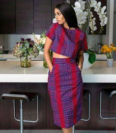 Ankara skirt, Ankara crop top, African print, women, 2 pieces crop top and skirt in 2019 African Fashion Ankara, African Inspired Fashion, Latest African Fashion Dresses, African Print Fashion, Africa Fashion, Tribal Fashion, Mens Fashion, Ankara Dress Styles, African Print Dresses