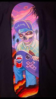 RIPNDIP Skate Sticker HELL PIT Nermal rip n dip skateboards helmets decal