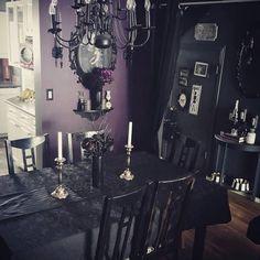 💜🖤@creepyghoulie Gothic Furniture Furniture Decor Gothic House Gothic Room & Pinterest
