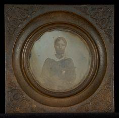 [Portrait of an unidentified young Swiss woman]; I. Bruden (Swiss, active Geneva, Switzerland 1844); 1844; Daguerreotype; 84.XT.267.8; J. Paul Getty Museum, Los Angeles, California