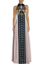 Mary KatrantzouStepa embellished wool gown