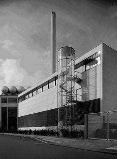 Arne Jacobsen - Novo fabrikkerne, Ndr. Fasanvej #architecture #midcenturymodern