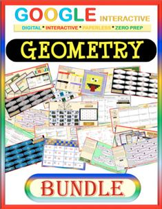 This bundle focuses on selected topics of Geometry such as: ☑ Vocabularies of Point, Line, Plane, . ☑ Midpoint Formula ☑ Distance Formula ☑ Measuring Angles ☑ Measuring Lines ☑ Pythagorean Theorem ☑ Angle Relations Science Resources, Math Activities, Teacher Resources, Math Lessons, Math Skills, Teaching Math, Student Learning, 12th Maths, Pythagorean Theorem