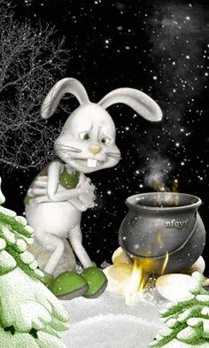 Кто придумал зиму? - анимация на телефон №1301897