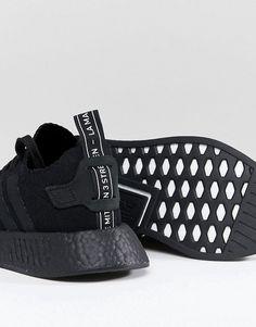 adidas originals nmd r2 - sneakers in schwarzen klamotten wunschzettel