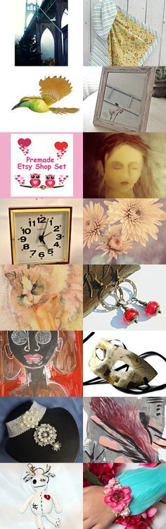 Girl With No Eyes by Carol on Etsy--Pinned+with+TreasuryPin.com