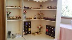 Dessert cupboard
