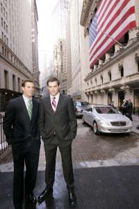 Bob and Mike Bryan Tour New York City - February 17, 2006 Looking Sharp!