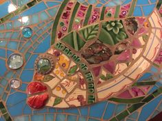 Great use of texture and color Mosaic Crafts, Mosaic Projects, Mosaic Art, Projects To Try, Mosaic Ideas, Mosaic Designs, Mosaic Patterns, Mosaic Animals, Mosaic Madness