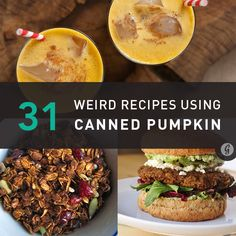 31 Weird But Awesome Canned Pumpkin Recipes