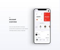 Designers Stas Aristov, Alya Prigotska and Thanh Do decided to redesign the Alfa Bank mobile app. Web And App Design, Mobile App Design, Mobile Ui, Design Thinking, Apps, Desgin, Interaktives Design, Design Innovation, Motion Design