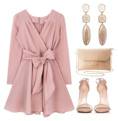 """""""Pastel colors"""" by azrapjanic27 ❤ liked on Polyvore featuring Charlotte Russe and Stuart Weitzman"""