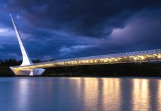 Sundial Bridge: Redding, CA.