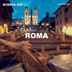 From today, our flights from Seoul to Rome NON-STOP.