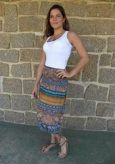Vestido Saia Onda 2- #mundoshakti #quemédomar #estilo #moda #boho #bohochic #verão2016