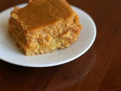Pumpkin gooey cake!!!.. I had this at a 4th of July party!!! OMG ... if you love pumpkin pie you will love this!
