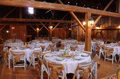 vintage wedding, barn wedding, tables, place settings