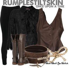 rumple look