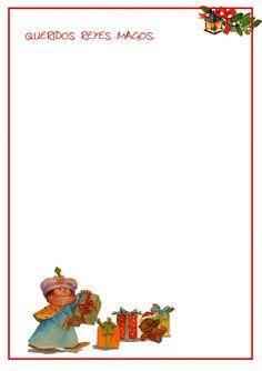 Con cuatro basta.: Carta a los Reyes Magos para imprimir.
