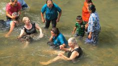 women from around the world unite in the river