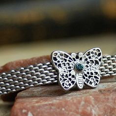 vintage CHOKER necklace...    butterfly...   by CoolVintage, $21.50