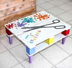 La palette gribouille Bureau pour enfant L'atelier d'Orel