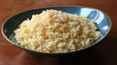 Learn how to make a Savory Coconut Rice recipe! Visit for the ingredients, more information, and many, many more video recipes. I hope you enjoy this easy Coconut Rice side dish recipe! Rice Recipes, Side Dish Recipes, Vegan Recipes, Cooking Recipes, Curry Recipes, Easy Recipes, Cooking Rice, Popular Recipes, Cooking Ideas