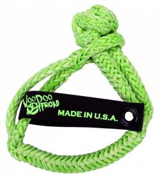 Winch Shackle Soft Inch x 7 Inch Green VooDoo Offroad Winch Accessories, Cool Gear, Jeep Truck, Voodoo, Offroad, Recovery, Personalized Items, Green, Off Road