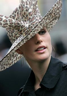 Zara Philips, daughter of the Princess Anne watches horses in the parade ring on the third day of the Royal Ascot horse racing meet, traditional known as Ladies Day,  June 21, 2007