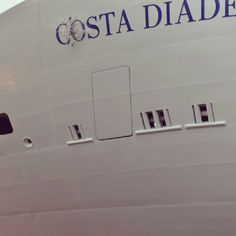 Costa Diadema, Costa Crociere 15th Novemer 2013, Launching Ceremony, Fincantieri, Marghera.