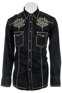 Panhandle Slim 90 Proof Men's L/S Western Snap Shirt V6S7412