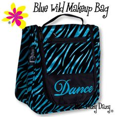 Go wild with this new MakeUp Bag!  $26.99 at www.thecrazydazy.com
