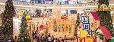shopping mall christmas decoration - Buscar con Google