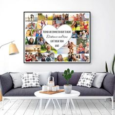 Friend Gift Ideas Friend Gifts For Woman Photo Gifts For Mom Photo Gifts For Friends Heart Gifts Collage Art Adventure Gifts Mosaic Birthday Photo Collage, Birthday Gift Photo, Photo Collage Gift, Friend Birthday Gifts, Gifts For Friends, Gifts For Mom, Friend Gifts, 65th Birthday, Picture Gifts