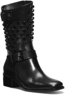 MICHAEL Michael Kors Bryn Studded Leather Boot