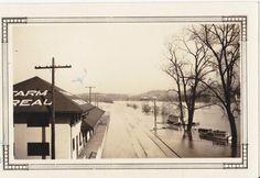 Zanesville Ohio flood 1913