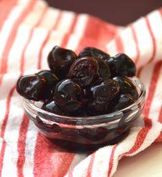 Homemade Luxardo Cherries