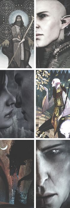 Solas: The Mind The Fool The Destruction (Dragon Age: Inquisition) Solavellan
