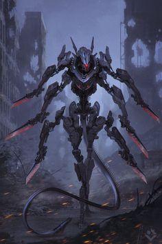 Butcher by Dmitry Lyapin   Robotic/Cyborg   2D   CGSociety