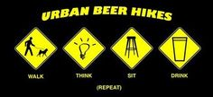 Urban beer hikes